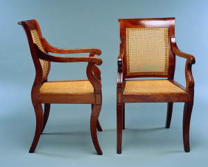 Two armchair (from a suite)